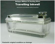 Sterling Silver Collectable Inkwells