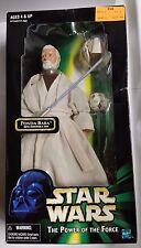 Star Wars Hasbro 1998 POTF Obi-Wan Kenobi 12-Inch Action Figure Ponda Baba Box