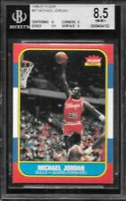 1986-87 Fleer Michael Jordan BGS 8.5 .5 From 9 With 2 9s & a 9.5 Chicago Bulls