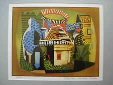 pablo picasso (landscape)ed.limited 41/500 signed and framed.coa