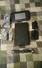 Nintendo Wii u deluxe 32GB black console Used Condition