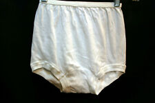 Nos Sz 10 White Buster Brown 100% Cotton Panty Vtg 1960s 1970 60s 70s Underwear