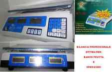 BILANCIA ELETTRONICA PROFESSIONALE DA BANCO DIGITALE 40 KG DOPPIO DISPLAY
