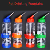 AM_ 250ML PET RABBIT GUINEA PIG HAMSTER WATER FOUNTAIN DRINKING BOTTLE FEEDER SU