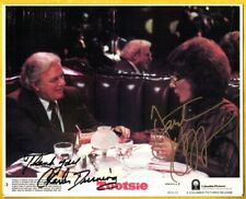 D-Charles Durning/Dustin Hoffman autograpehd Movie still Photo from Tootsie-Coa