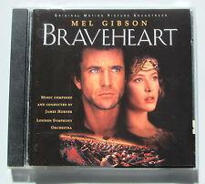 BRAVEHEART . JAMES HORNER . (BO ,OST) . CD