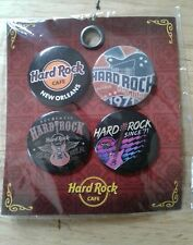 FOUR HARDROCK CAFE PINS NEW IN PACK