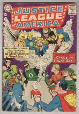 Justice League of America #21 August 1963 VG- Crisis on Earth One