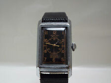 Vintage Sterling Prima Doctors Watch In Four Part Shock Protected Case