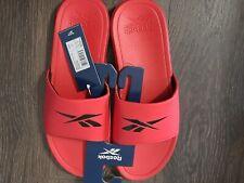 Mens Reebok U.S. Size 11 Red Slide On Sandles! Sku#6