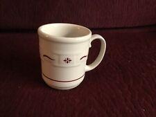 Longaberger Traditional Red Pottery Mug