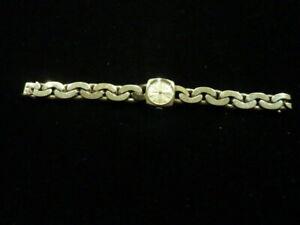 montre de femme bracelet en argent massif Zephyr mécanique  vintage ancienne