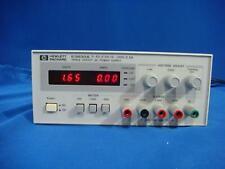 Agilent E3630A Triple Output 0-6V, 2.5A/+/-20V, 0.5A DC Power Supply