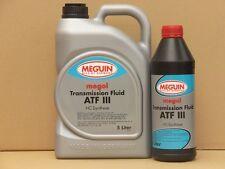 5,48€/l Meguin Megol Transmission Fluid ATF III rot 6 L Automatikgetriebeöl
