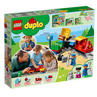 10874 LEGO DUPLO Town Steam Train inc Track 59 Pieces Toddler Age 2 Years+