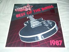 Starview 92 various indie PA metal bands w/ Cry Tuff Wrathchild America