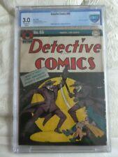 DETECTIVE comics 85 batman Double Joker cover CGC,cbcs  3.0 1944