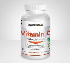 Vitamine C 1000mg Haut Résistance 180 Comprimés Pas Capsules Fabriqué en Ru