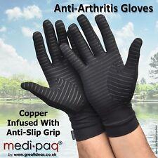 Medipaq Anti Arthritis Copper Compression Therapy Gloves With Grip At654blam Medium