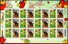2914-3-FO BRAZIL 2004, NOVEL, BIRDS, SHEET PERSONALIZED MNH