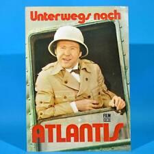 """2250 Film Für Sie 3/1977 DDR """"Unterwegs nach Atlantis"""" Carl Heinz Choynski"""