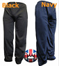 WWK Mens Plain Silky Casual Tracksuit Bottoms Trousers Sizes Small to XXL NEW