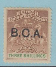 British Central Africa 10 Mint Hinged Og * No Faults Extra Fine!