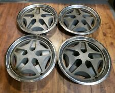 Set of 4 OEM 1981-83 AMC Spirit Concord Mag Hubcaps Wheel Covers p/n 3237039
