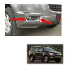 Fog Lamp Light Cover Chrome Trim Fits Chevrolet Holden Trailblazer 2012 13 15
