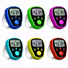 Mini LED Digit LCD Electronic Digital Finger Hand Ring Tally Row Counter  JQG