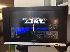 *ZELDA 2 :THE ADVENTURE OF LINK*..~RARE!!! GRAY VINTAGE NES CARTRIDGE~..