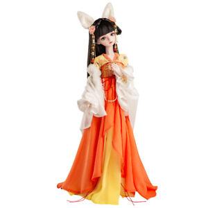 """New 1/3 Handmade PVC BJD MSD Dolls Lifelike Doll Joint Doll Girl Gift Sherry 24"""""""
