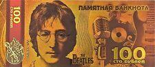The Beatles John Lennon Gold- plated Banknote