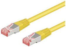 Cat6 Cat.6 Patchkabel S/ftp gelb Netzwerkkabel 7m