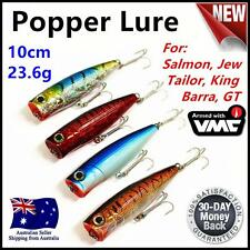 4X Fishing Hardbody 100MM Whiting Popper Lures Bream Flathead Topwater no.521