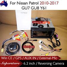 """6.2"""" CAR DVD GPS Player Head Unit Navi For Nissan Patrol 2010-2017 GU7 GU8 Y61"""