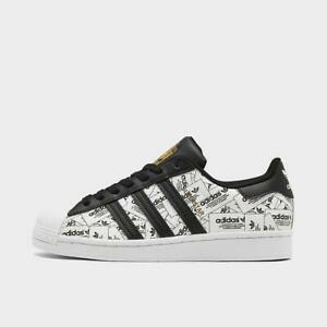 ADIDAS SUPERSTAR CASUAL MEN's CLOUD WHITE - CORE BLACK AUTHENTIC NEW IN BOX SIZE