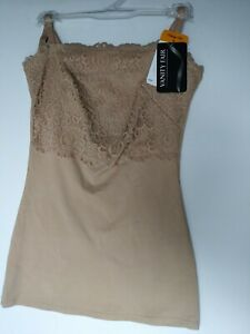 Women's Vanity Fair Smoothing Daywear Camisole 17195 Latte Sz.S