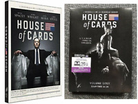 COFFRET DVD SERIE DRAME THRILLER : HOUSE OF CARDS SAISONS 1 et 2 - KEVIN SPACEY
