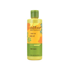 Alba Botanica Hawaiian Kukui Nut Body Oil 8.5 fl oz Liquid