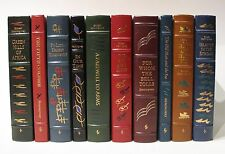 ERNEST HEMINGWAY COLLECTION ~ Easton Press Complete 19 Volume Set Fine Condition