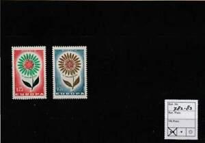 Europa postfris 1964 MNH Monaco 782-783 - Cept