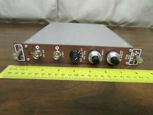 EG&G Ortec 550 SCA Signal Channel Analyzer NIM NIMBIN Plugin