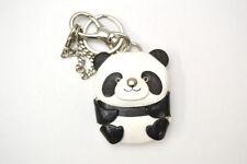 Panda Handmade 3D Leather Animal Keychain Bag Charm *VANCA* Made in Japan #26049