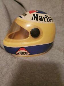 Michele Alboreto Helmet Ashtray Marlboro  Jeb's Helmets