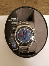 Citizen Eco-Drive Chronograph Men's Watch with Stainless Steel Band #CA0590-82L
