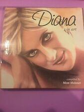 PRINCESS DIANA - DIANA IN ART -  hard cover book - very interesting photos