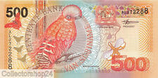 Suriname 500 Gulden 2000 Unc pn 150 Rare Note