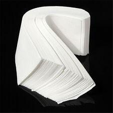 100 x Neu Vliesstreifen Wachsstreifen Papier Waxing Streifen Strip Set