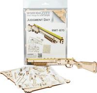WOODEN CITY® Judgement Day RMT-870 Holzpistole, Gummibandpistole, Holz Remington